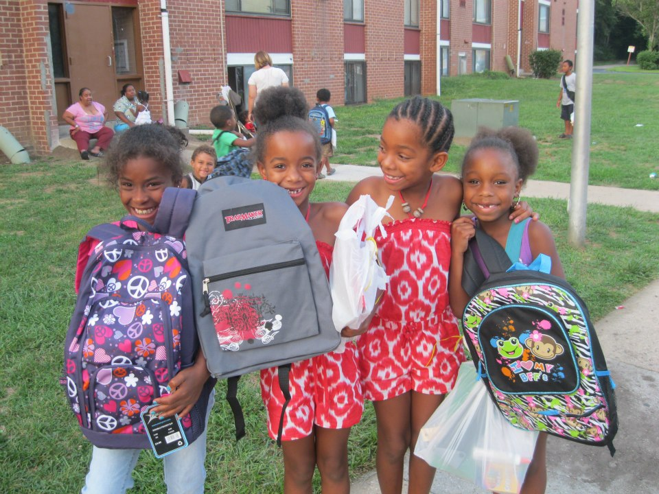 Back to School Providing School Supplies