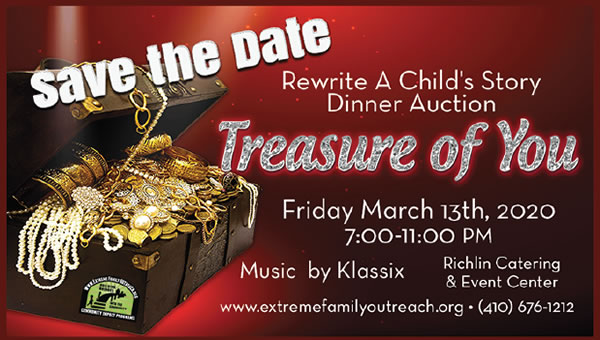 """Treasure of You"" Fundraiser"