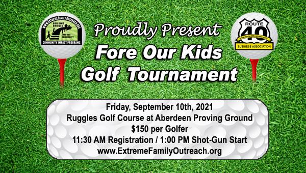 Golf Tournament Sept 10, 2021
